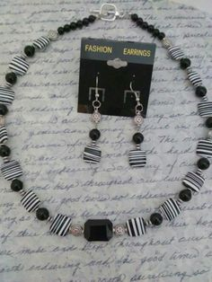 Excited to share the latest addition to my #etsy shop: Black white striped agate jewelry/black onyx jewelry/women's jewelry set/natural Stone jewelry/puffy square agate necklace/holiday jewelry #holidaygiftidea #modernjewelry #melsdreamdesigns.etsy.com http://etsy.me/2B4cAbW #OnyxSets