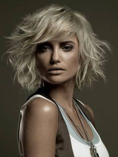 Love everything about this. Gypsy Shag Haircut, the Perfect Layered Haircut for Thick Hair