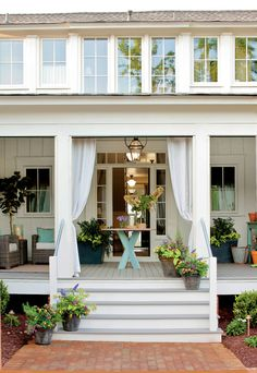 Farmhouse Porch and Summer Living