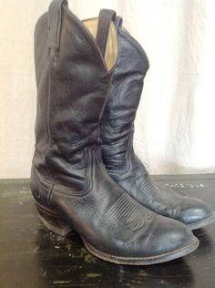 70s Tony Lama mens cowboy boots