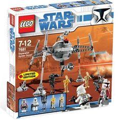 LEGO Star Wars Exclusive Limited Edition Separatist Spider Droid 7681 NIB #LEGO