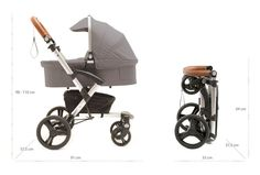 mutsy evo urban baby stroller stone grey with leather. Black Bedroom Furniture Sets. Home Design Ideas
