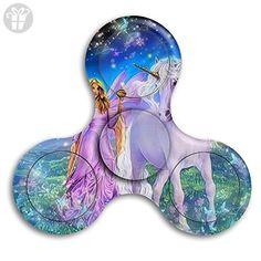 Fidget Spinner Toy - Unicorn Horse3 Tri Fidget Hand Spinner - Perfect For ADD, ADHD, Anxiety, And Autism Adult Children - Fidget spinner (*Amazon Partner-Link)