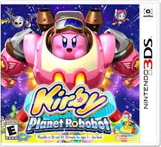 Bonus! Kirby Planet Robobot Box art! Kirby Planet Robobot