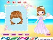 Romantic Beach Wedding is all about a new couple who will hold their wedding on the beach in a sunny day since it is the bride's dream. Like others they need to have a good preparation for this important day. Help them right now dear players! Before the wedding gamers are required to dress the bride & bridegroom up first.