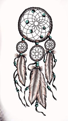 Dream catcher tattoo. I'm definitely getting this on my arm