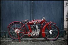 Vintage Indian: perfect symmetry, timeless style.