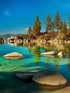 Lake Tahoe - Sierra Nevada, US