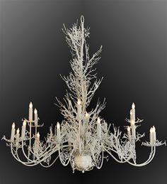 2nd Avenue Lighting Hammer Coral 18-Light 72'' Wide Grand Chandelier | 2N48259396
