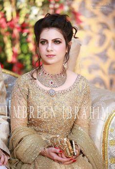 Beautiful Pakistani bride, not Indian