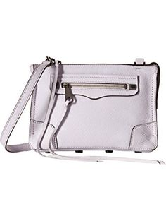 Rebecca Minkoff Women's Regan Crossbody Pale Lilac Cross Body ❤ ... Rebecca Minkoff Handbags, Cross Body, Gifts For Women, Lilac, Lilac Bushes, Lille, Syringa Vulgaris, Lilacs