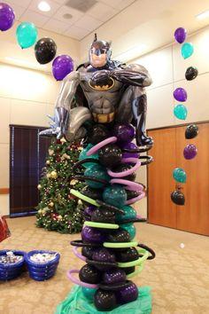 Batman Balloon pole All Out Ballooning