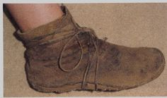 it's not the cutest picture, but this is a great tutorial on how to make moccasins.