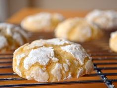 Meyer Lemon Cardamom Crinkle Cookies : Recipes : Cooking Channel