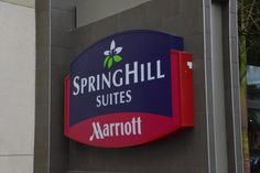 SpringHill Suites is located on the southwest corner of Harbor Boulevard and Katella Avenue, just south of the Disneyland Resort.  There is a CVS Pharmacy and The Coffee Bean & Tea Leaf in the same building.  The Anaheim Resort Transportation picks up on the northeast corner, but the walk to the Parks is not bad at all.