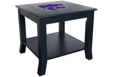 Use this Exclusive coupon code: PINFIVE to receive an additional 5% off the Kansas State University Side Table at SportsFansPlus.com