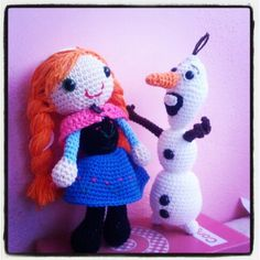 Princess Anna y Olaf Frozen