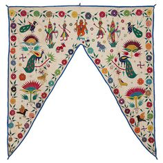 Your place to buy and sell all things handmade Creator Of The Universe, Vintage Textiles, Ganesh, Elephant, Fabric, Crafts, Handmade, Blue, Art