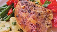 Chicken Breasts with Herb Basting Sauce Recipe