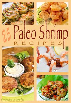 25 of the Best Paleo Shrimp Recipes-looks delish whether you follow the Paleo diet or not!