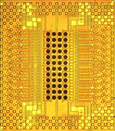 IBM Holey Optochip, a new chip architecture capable of transferring a terabit of information per second.