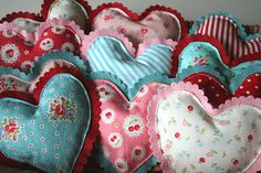 Adorable hearts!!!..sew sweet:)