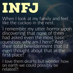 Me too and I'm an ESTJ only highly sensitive. Asked myself the question at 15 and knew at that moment there was no one in my family to share it with. It's been the quest of my life and I've loved every minute of the search!