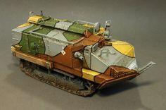 Schneider CA1 Tank, Late Version