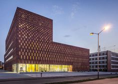 Brick-Resembling Libraries - The Katowice Library by HS99 Towers With Academic Grandiosity (GALLERY)
