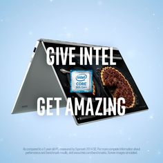 Give a new computer powered by the 8th Gen Intel Core and they'll get up to 2x better overall performance.