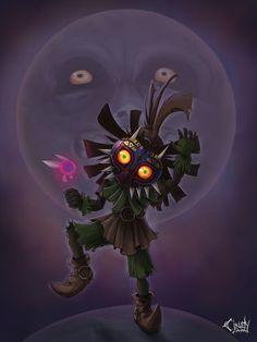 Majora's Mask by =CindyAA on deviantART: