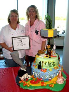Wizard of  Oz Cake #wizard of oz #cake
