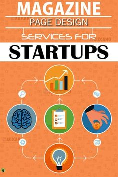 Magazine Designing Services - Startups