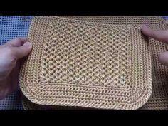 Crochet Stitches, Knit Crochet, Crochet Patterns, Crochet Purses, Mini Bag, Minis, Purses And Bags, Knitting, Crocheting