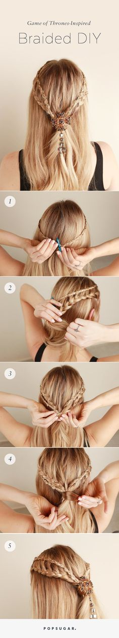 This May Be the Prettiest Game of Thrones Braid Tutorial Yet