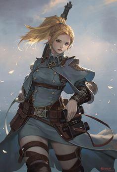 Girl in the Battlefield | HAREN / Kim Hanseul on Patreon