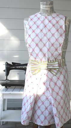 Jackie O Collection with fabric bow Pink by SugarSpiceandNutmeg, $30.00