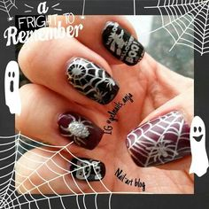 IBD Halloween nails Nail Art 2014, Halloween Nails, Art Blog, Gel Polish, Beauty, Gel Nail Varnish, Beauty Illustration, Polish