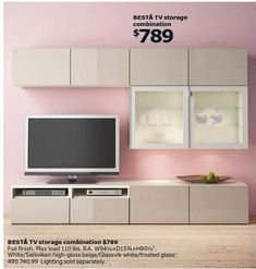 Ikea us 2016 Ikea Living Room, Interior Design Living Room, Living Room Tv, Living Room Tv Unit Designs, Ikea Storage, Ikea Tv Unit, Ikea Tv, Ikea Catalogue 2016, Ikea Catalog