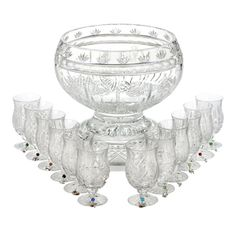 Waterford punch bowl set
