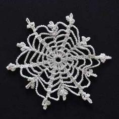 Crochet Snowflake 4