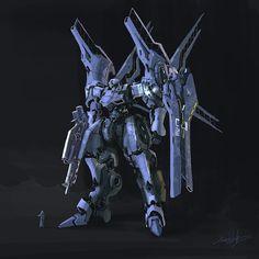 It's that time of the year again where I skim the net through streams of mecha porn for some inspiration. Arte Gundam, Gundam Art, Sci Fi Anime, Mecha Anime, Robot Concept Art, Robot Art, Armored Core, Metal Robot, Robot Illustration
