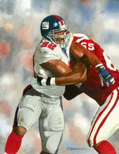 Michael Strahan, NY Giants by G.T. Johnson II