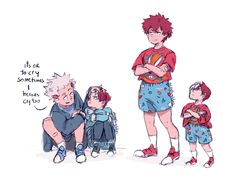 """Big Bros❄️🔥 When I was little my mom bought one identical outfit for my sister and i took one photo and never we wore that ever again. I love siblings relationships and better if they aren't your perfect """"we are each other's bffs"""" type, because for. Film Anime, Me Anime, Anime Manga, Anime Stuff, My Hero Academia Shouto, My Hero Academia Episodes, Hero Academia Characters, See You Space Cowboy, Punch Man"""