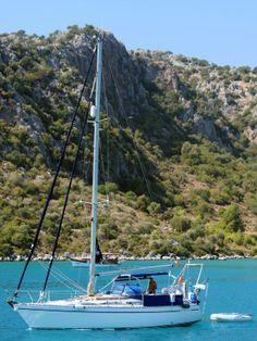 Ein Törn in der #Türkei rund um die Kekova Insel #Segeln #LykiaGuide