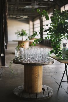 This gathering dreamt up and styled by Rebecca Gallop of A Daily Something was a night out for creatives and tastemakers in the Washington D. It's gorgeous inspiration for . Industrial Wedding Inspiration, Style Me Pretty Living, Barn Parties, Western Decor, Industrial Chic, Dinner, Washington, Table, Events