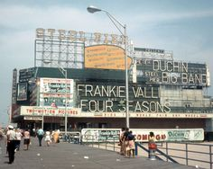 Atlantic City, 1970s I adore Frankie Valli and The Four Seasons. They hold a special place in my heart.
