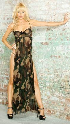 006b9151d03 Sexy Camo dress camocraze.com Camo Lingerie