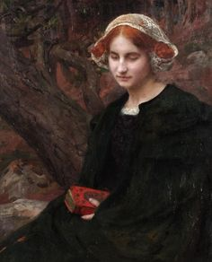 Edgar Maxence, 'Le Recueillement' ('The Meditation') (c. 1905)