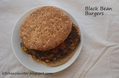I've made black bean burgers before, and while they've tasted good , they've never been great. Black Bean Burgers, Black Beans, Breakfast, Kitchen, Recipes, Food, Morning Coffee, Cooking, Kitchens